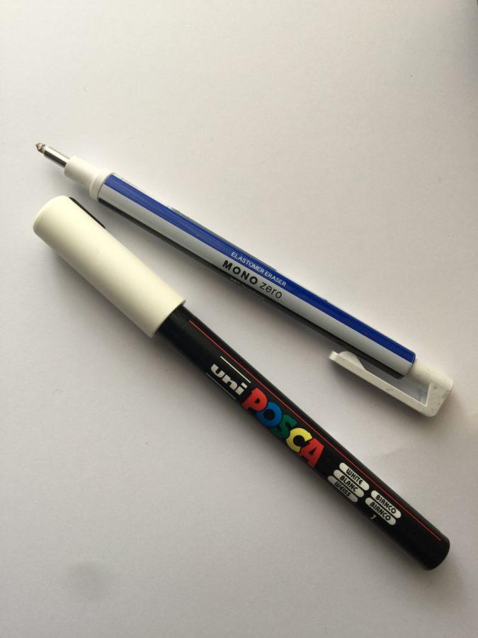 Eraser and Marker