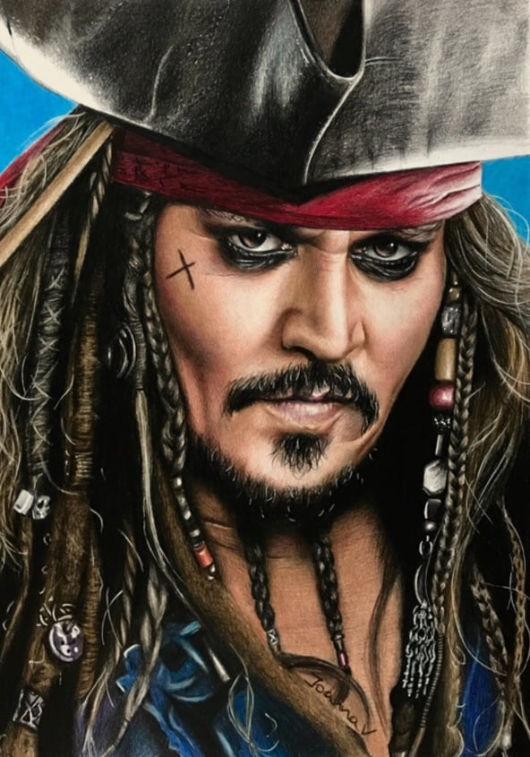 Jack Sparrow drawing - 4