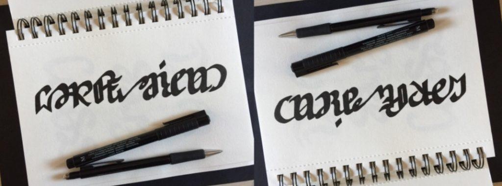 Carpe Diem-Carpe Noctem Ambigram