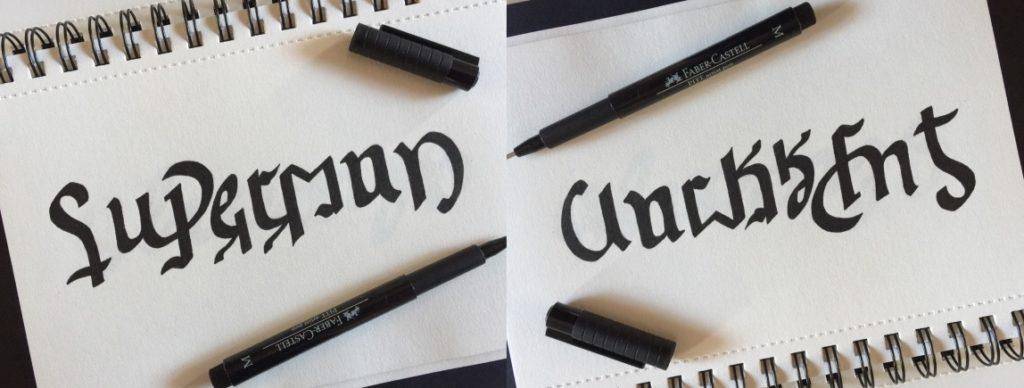 Superman Ambigram