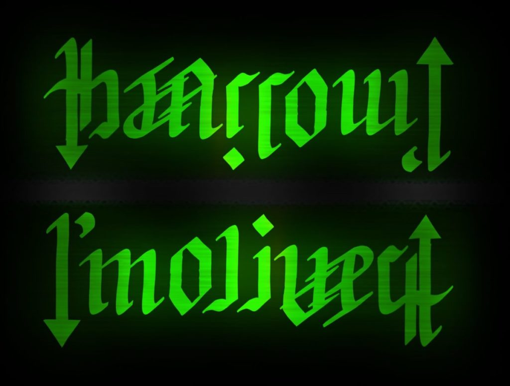 The Arrow ambigram