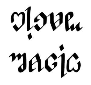 Love - Magic Ambigram