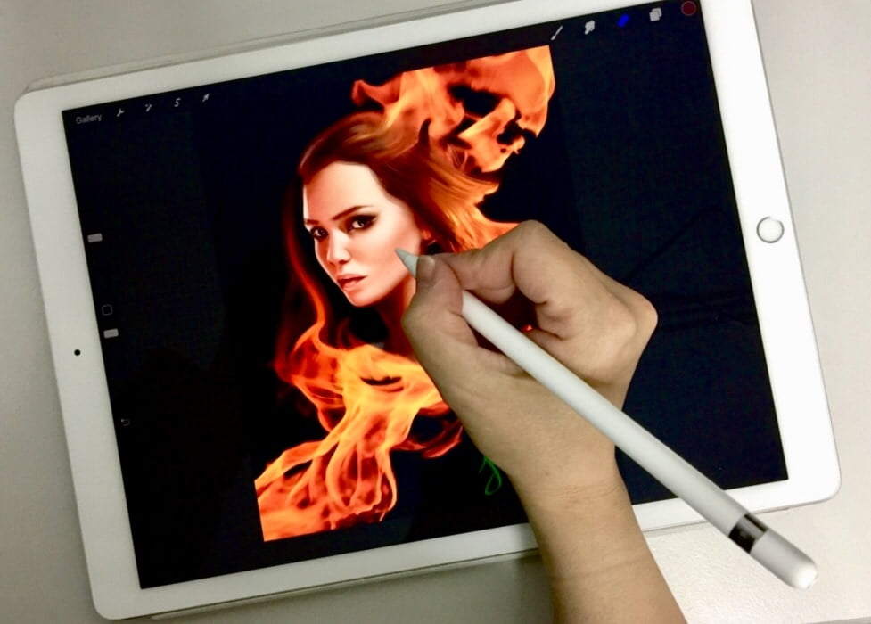 Catching Fire - Procreate Painting Demo
