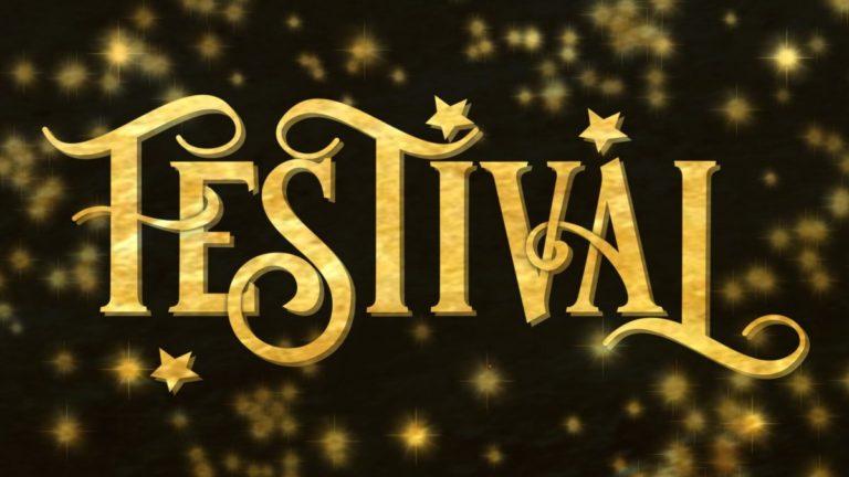 Festival Font -3D