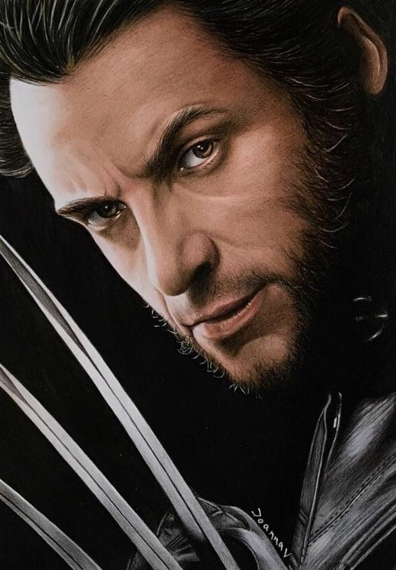3 Pencil Challenge - Wolverine