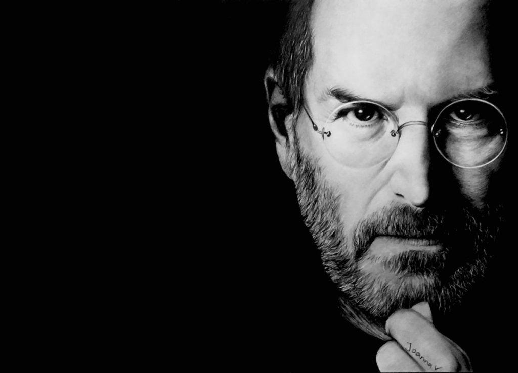 Steve Jobs drawing 2018