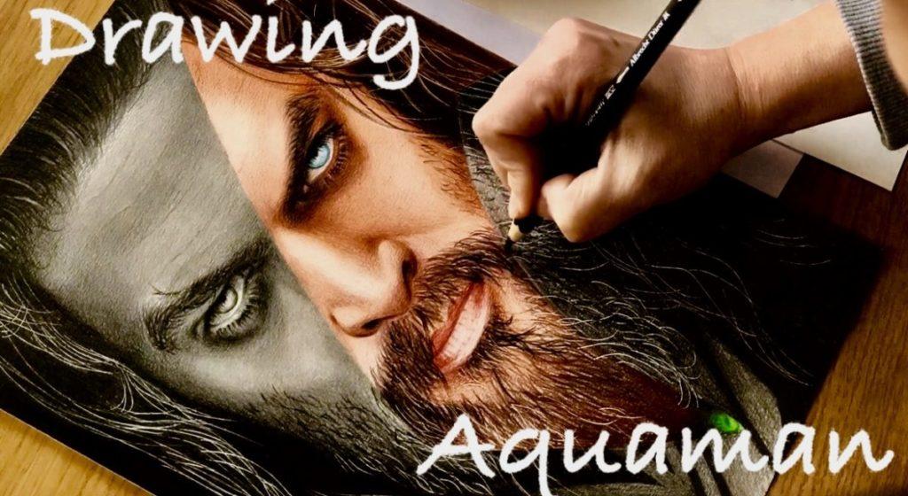 Drawing Aquaman