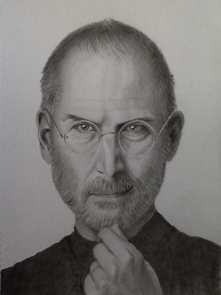 Steve Jobs drawing 2012