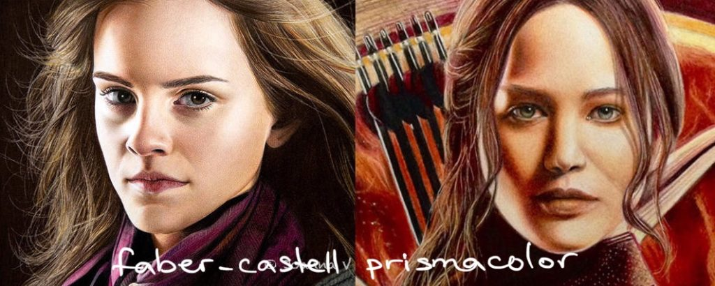 Faber-Castell vs Prismacolor. Layering.