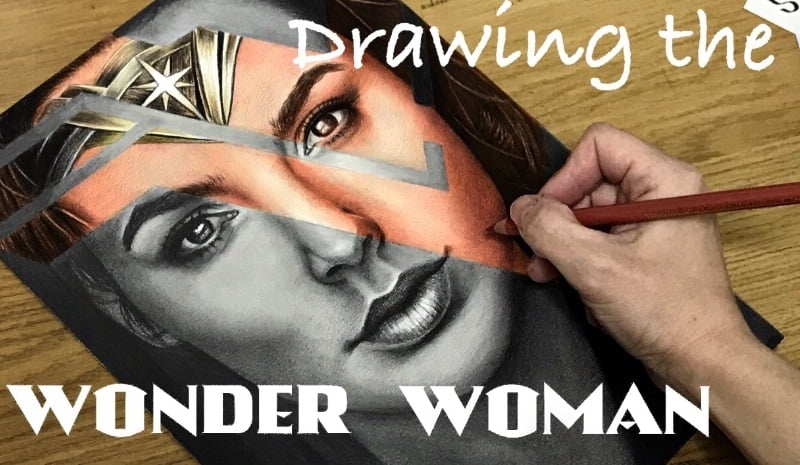 Drawing WonderWoman