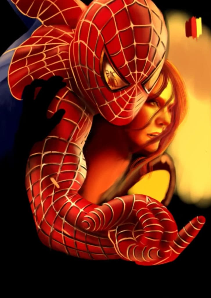 Painting Spider-Man - suit