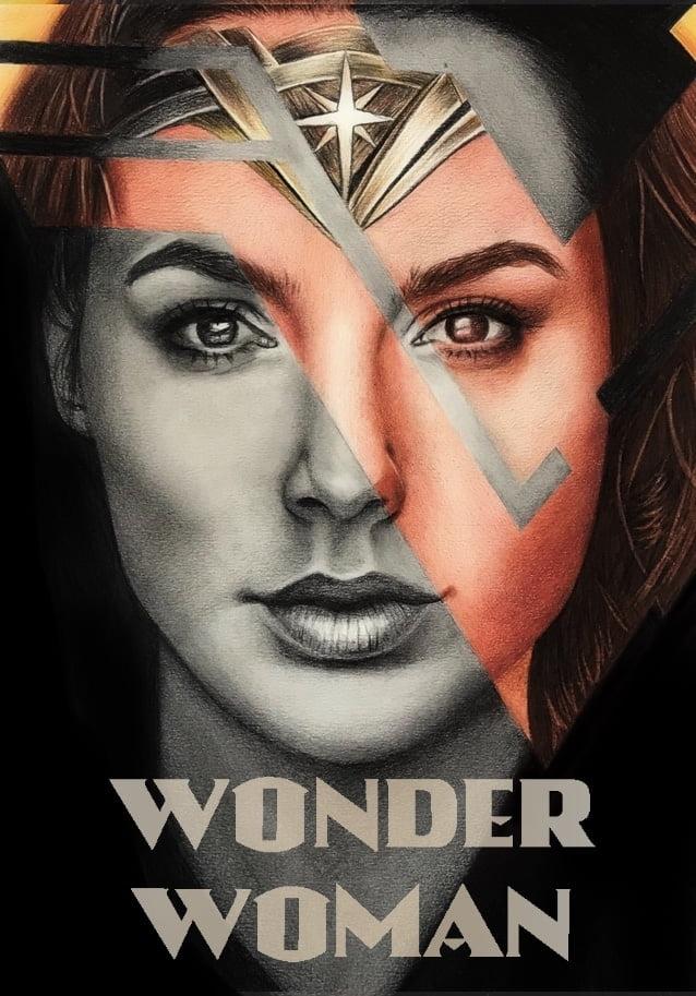 WonderWoman - Final Drawing