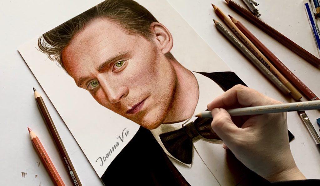 Drawing Tom Hiddleston