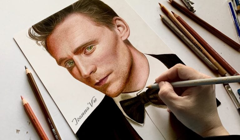 Drawing Tom Hiddleston