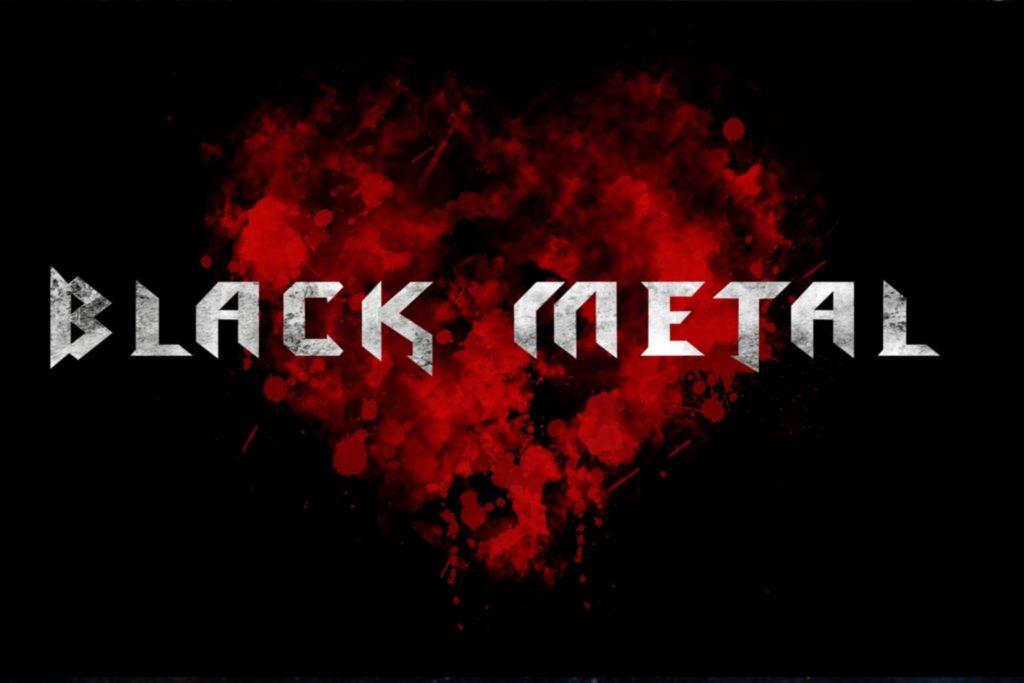 Black Metal - fonts - portfolio - Ioanna Ladopoulou