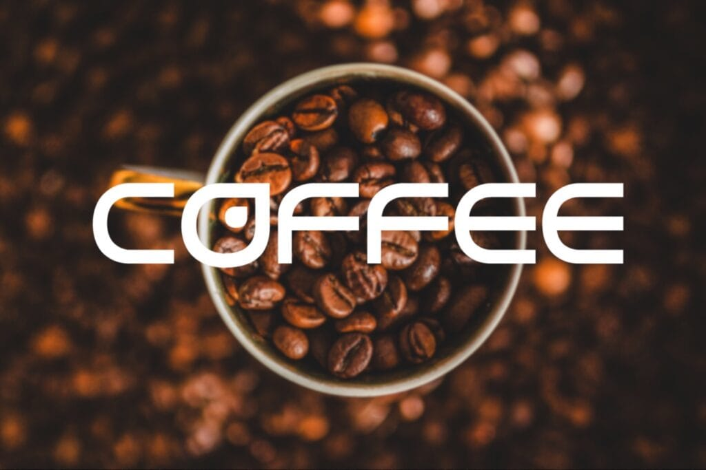 Cup of Coffee - fonts - portfolio - Ioanna Ladopoulou