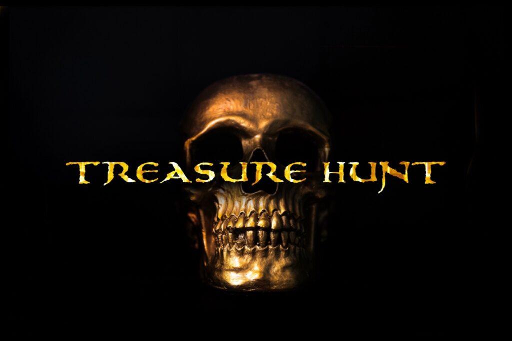 Treasure Hunt - fonts - portfolio - Ioanna Ladopoulou