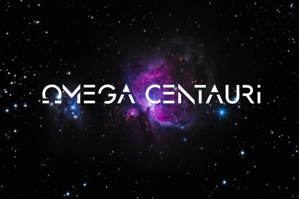 Omega Centauri - fonts - portfolio - Ioanna Ladopoulou