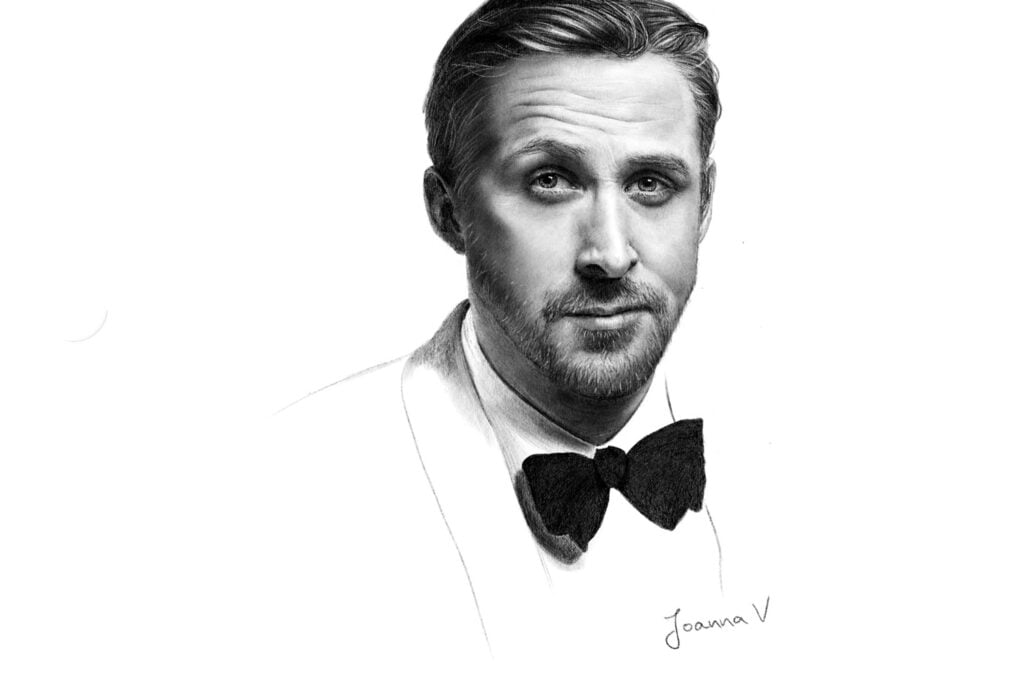Ryan Reynolds - procreate painting - portfolio - Ioanna Ladopoulou