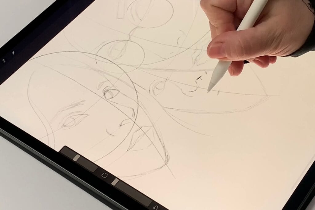 Drawing Harry Potter - outlines